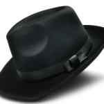 шляпа чёрная ферт
